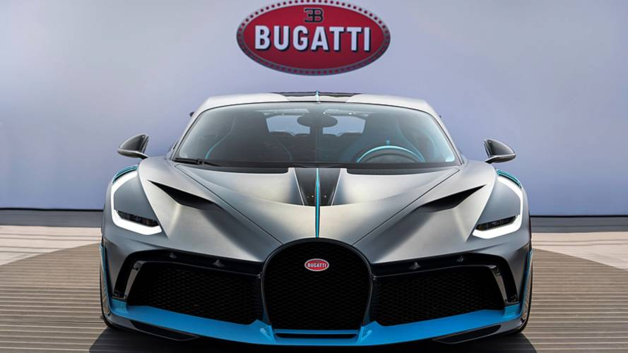 Bugatti Divo build slot is being sold for £5.7 million