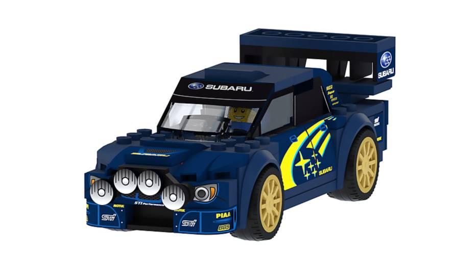Queremos que Lego se anime con este Subaru WRX STI WRC de 2006