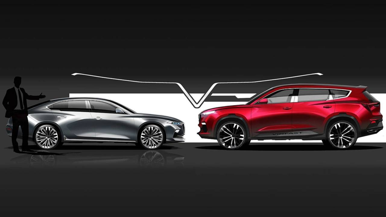 2019 Vinfast Sedan 02 And SUV 02