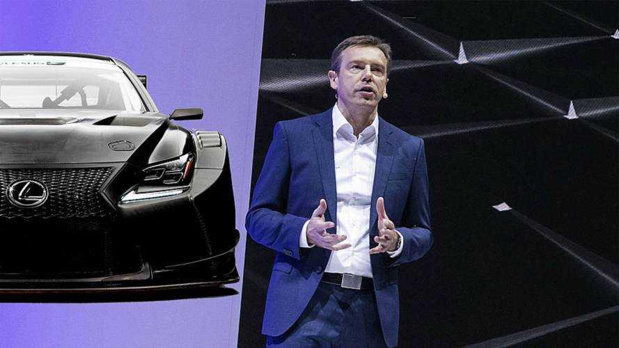 Il futuro di Lexus? Non solo ibrido, corriamo per far emozionare