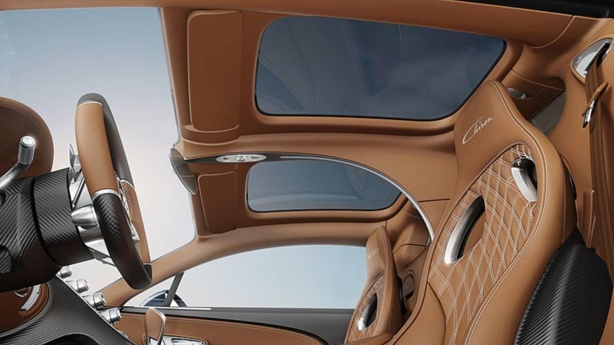 Bugatti Chiron с панорамной крышей