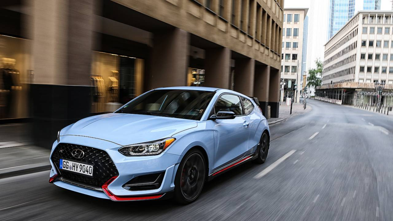 Hyundai Veloster N DCT Spotted Doing Hot Laps At Nurburgring