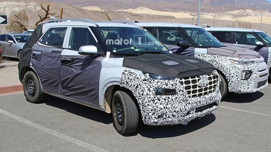 Flagra: Novo SUV compacto da Hyundai pode ser o sucessor do Creta
