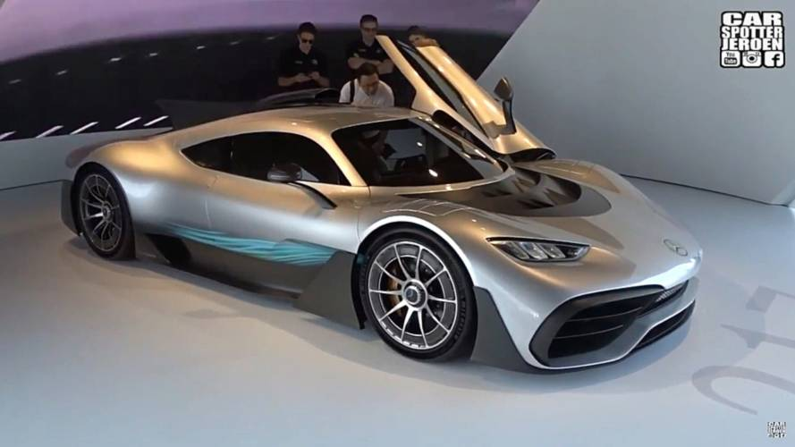 Get Up Close And Personal With The Mercedes-AMG Project One