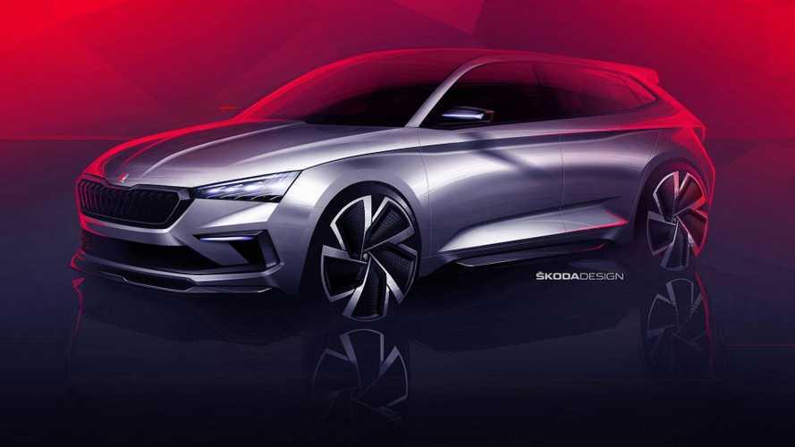 Škoda Vision RS - Concept musclé annoncé pour le Mondial