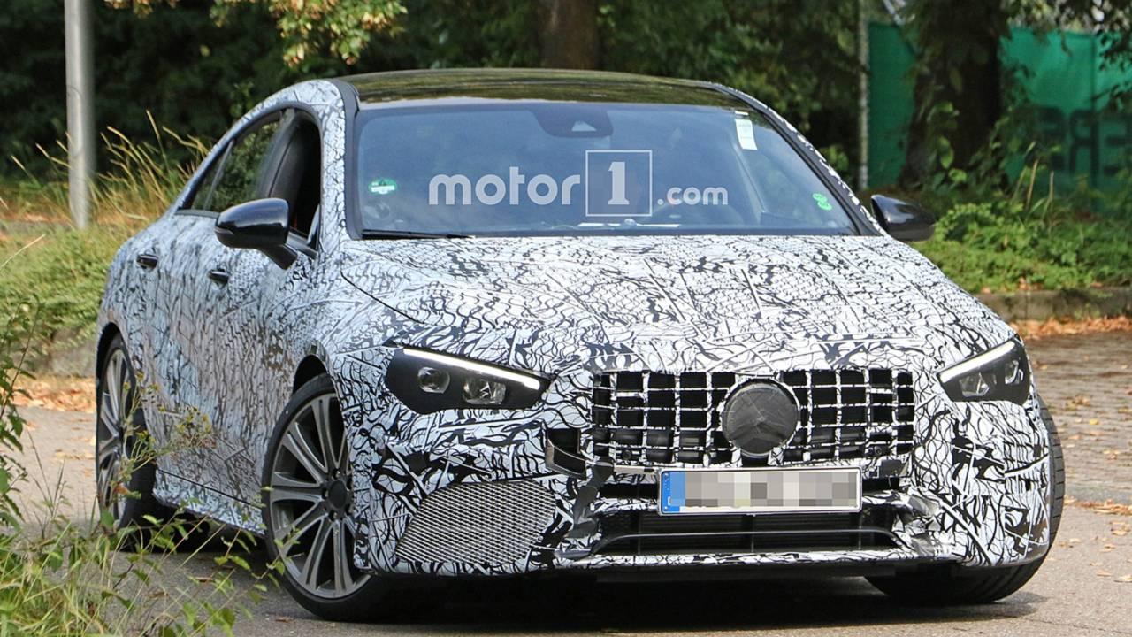 Mercedes-AMG CLA 45 Photos espion
