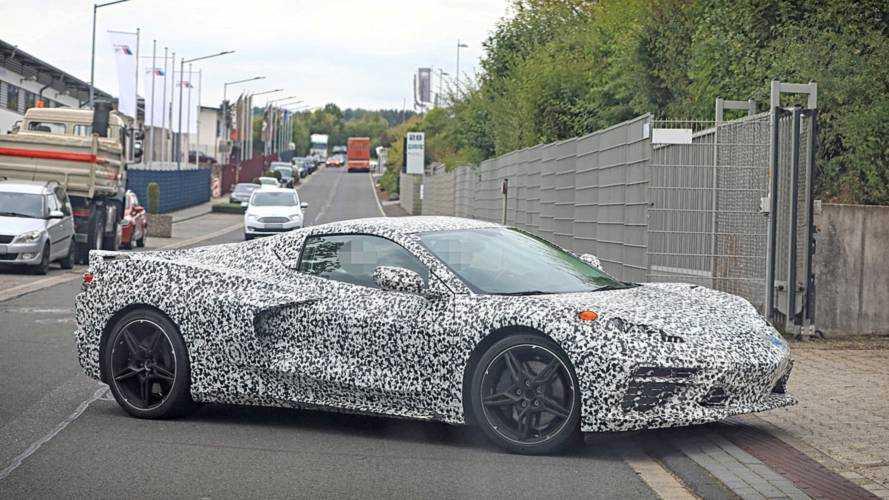 Corvette C8 (2019): Supersportler mit weniger Tarnung