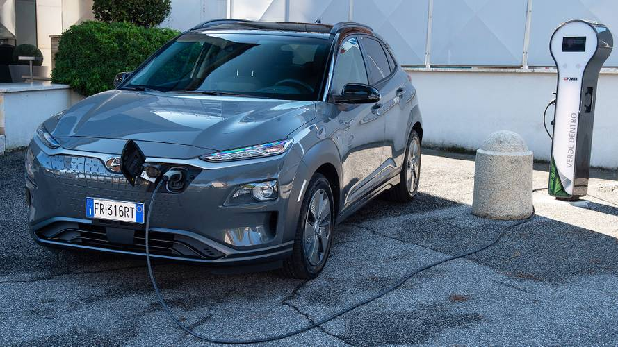Hyundai Kona Electric, real fuel consumption test