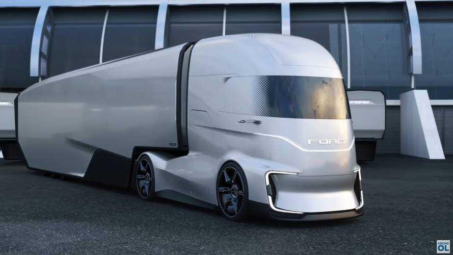 Ford, elektrikli tır konsepti F-Vision'ı tanıttı