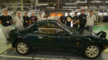 First Mazda MX-5 Miata Factory Restoration