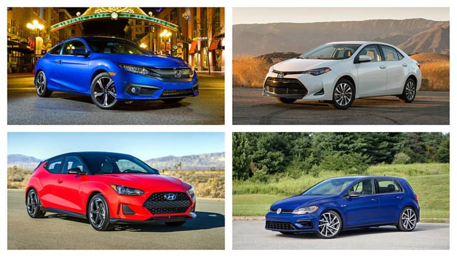 10 Fastest-Selling Cars In The U.S.