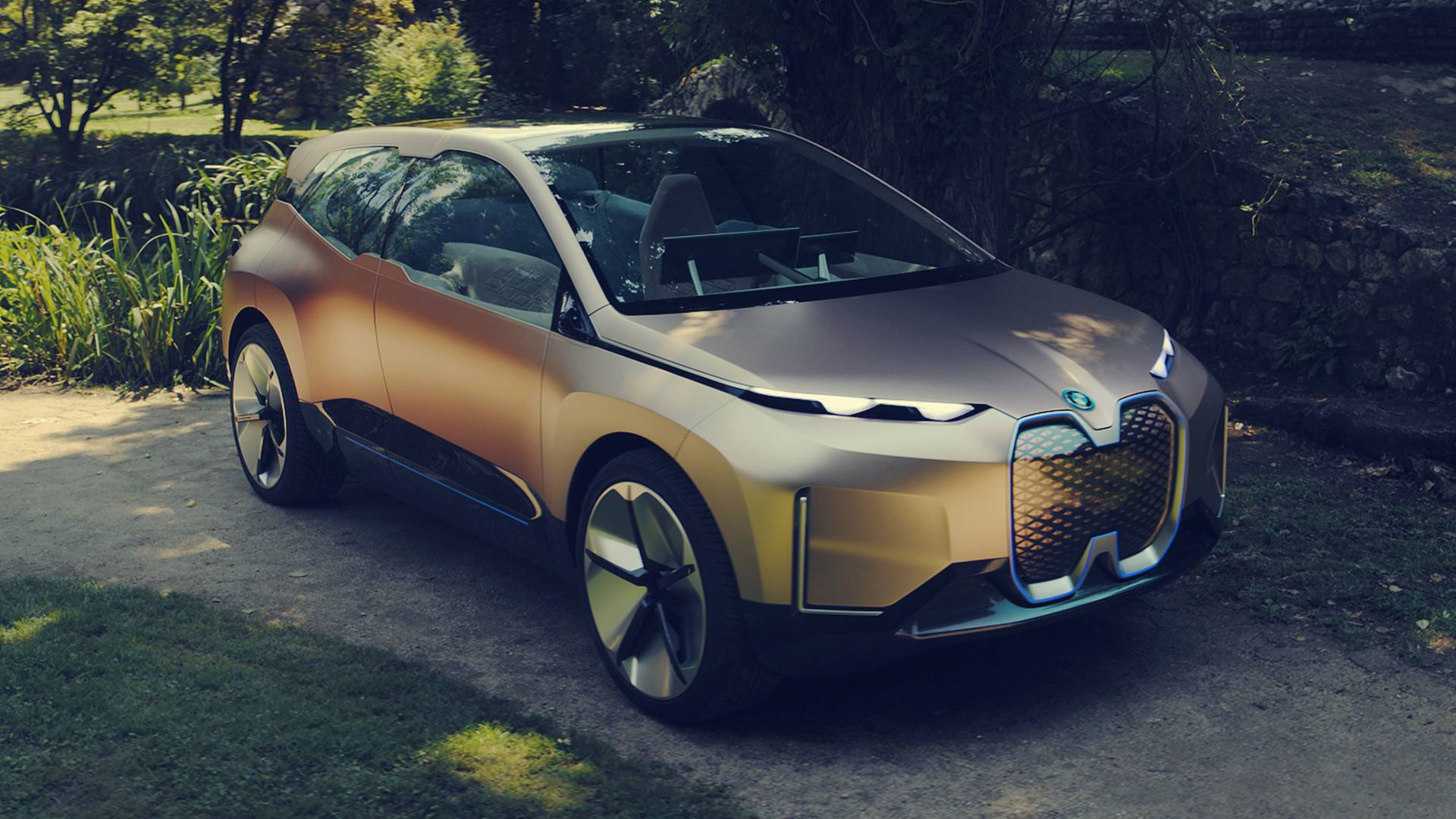 Bmw Vision iNext al Salone di Los Angeles 2018