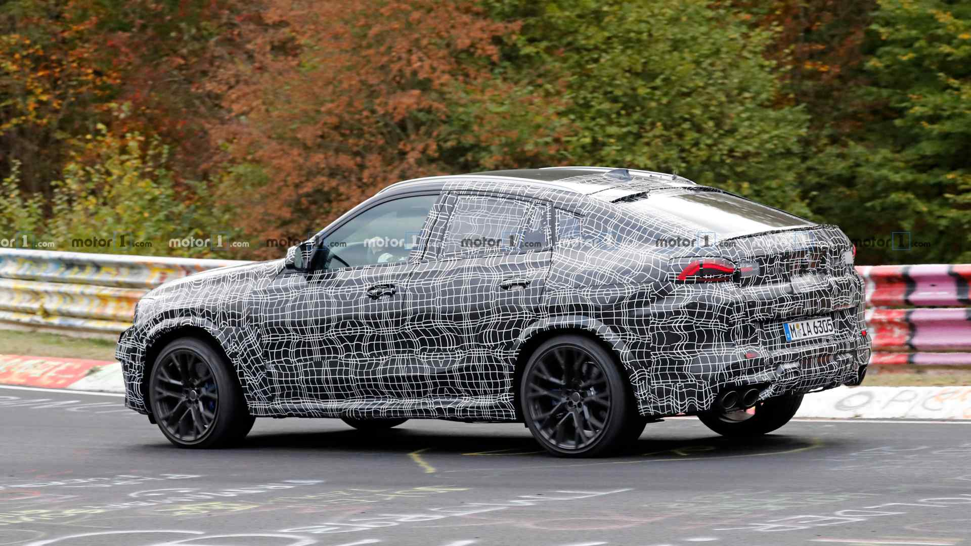 2020 Bmw X6 M Spied Testing At The Nrburgring