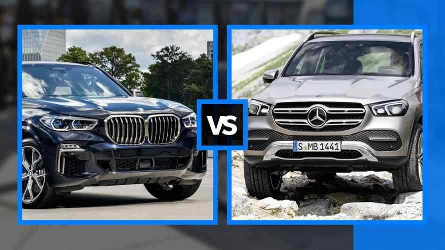 BMW X5 vs Mercedes GLE, faccia a faccia fra maxi SUV