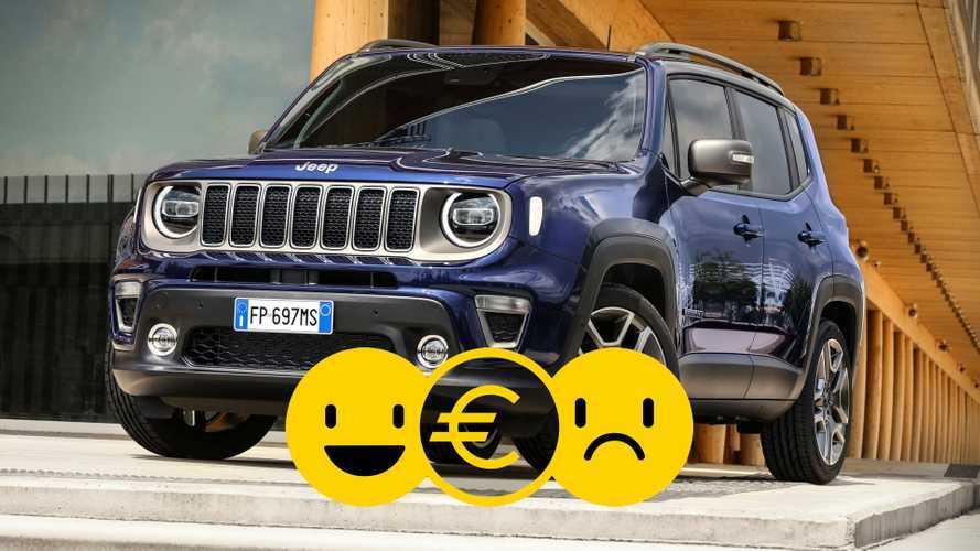 Promozione Jeep Renegade, perché conviene e perché no