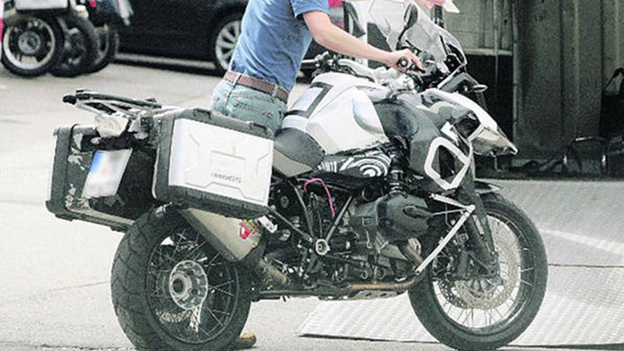 2012 BMW R1200GS spied with water cooling