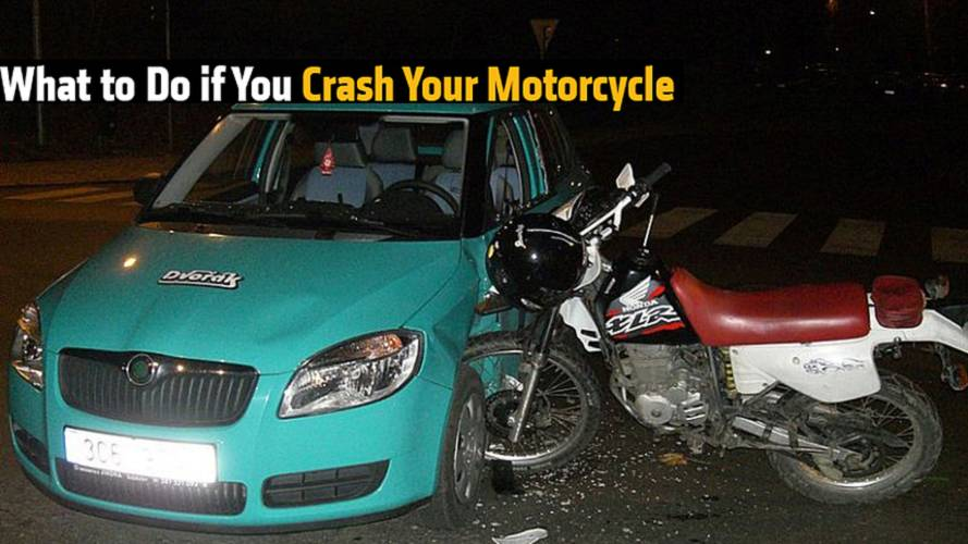 What to Do if You Crash Your Motorcycle