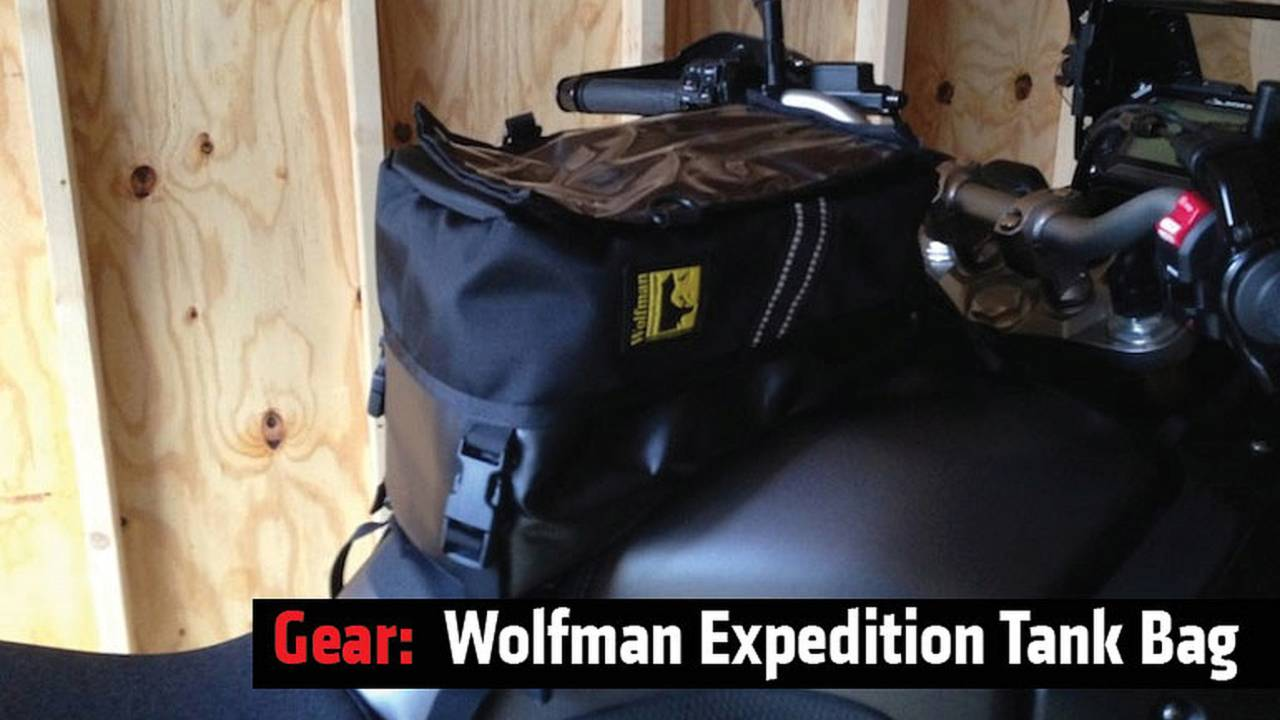 Review: Wolfman Expedition Tank Bag