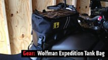 review wolfman expedition tank bag
