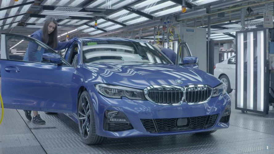 Watch how it's made: 2019 BMW 3 Series production