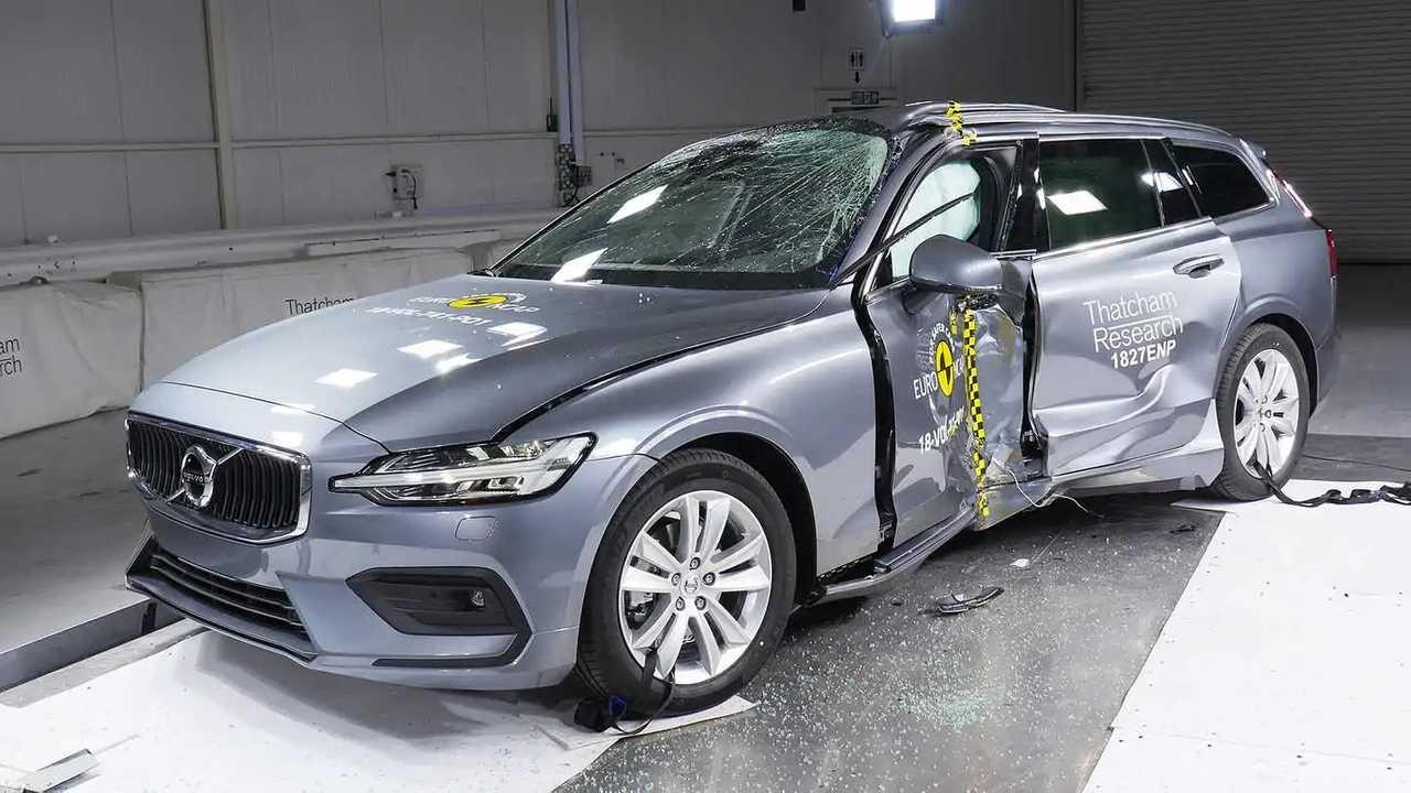 Új Volvo S60 és V60, az Euro NCAP összeomlási teszt