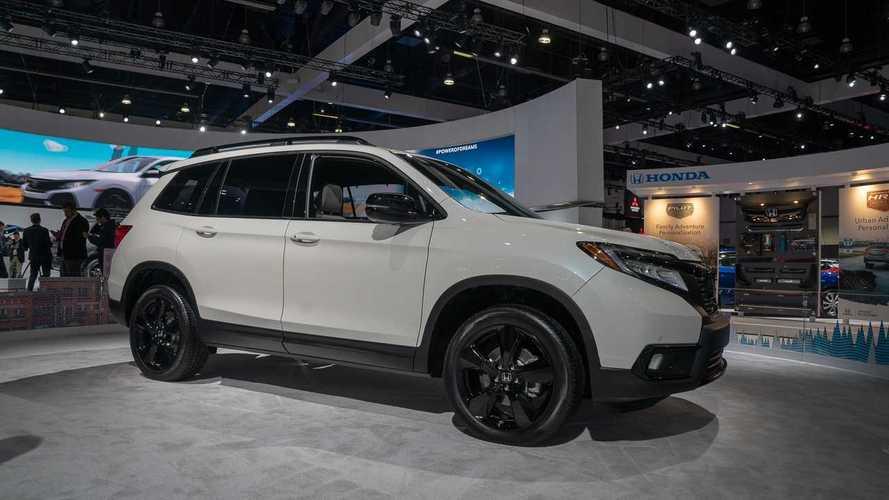 2019 Honda Passport at the Los Angeles Auto Show