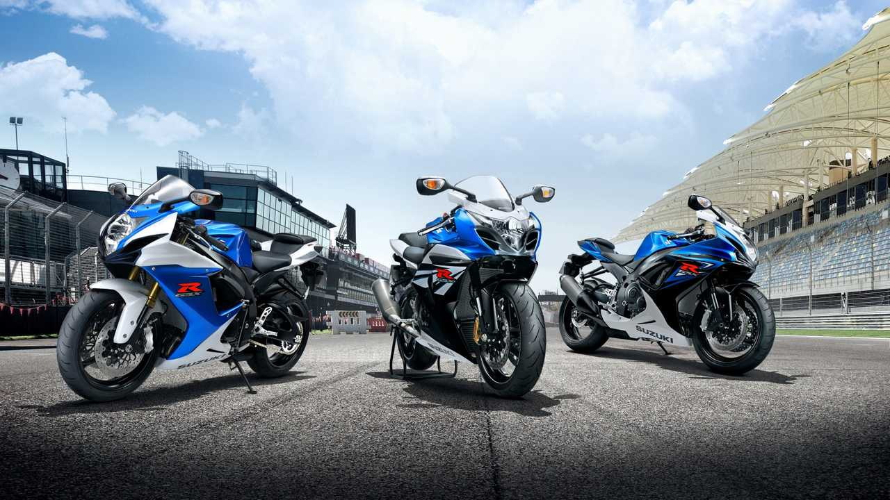 2004-2013 Suzuki GSX-R600, GSX-R750, and GSX-R1000