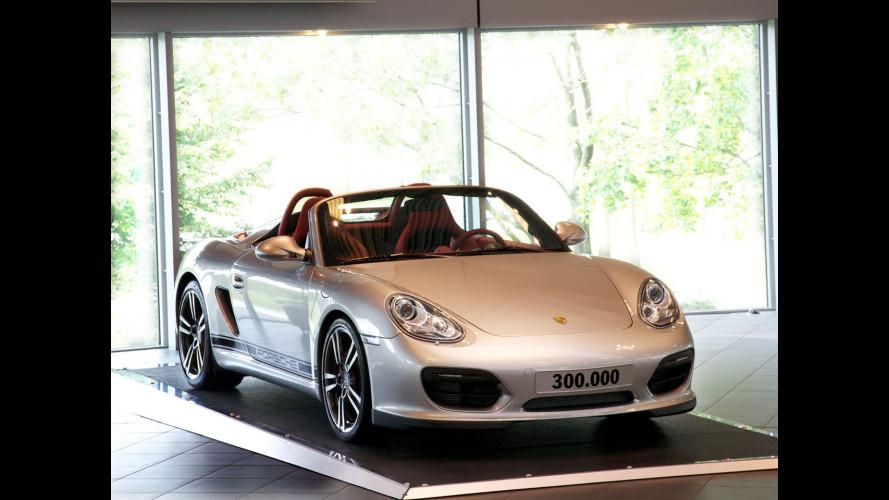 Porsche Boxster e Cayman: 300.000 unità prodotte