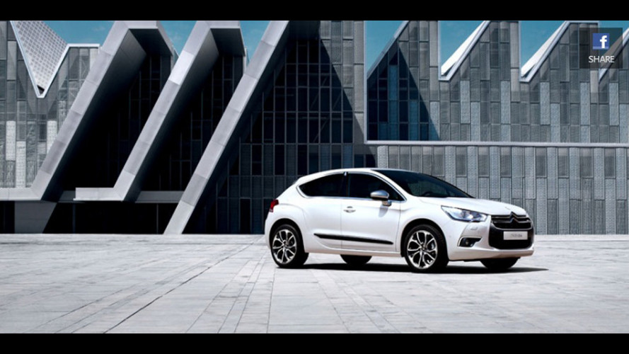 Citroen DS4 su Facebook