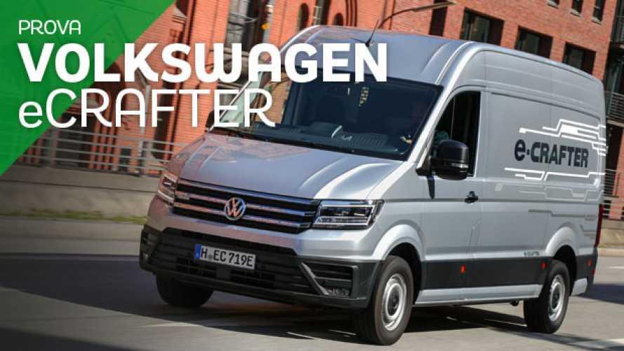 Volkswagen eCrafter. Silenzio, si lavora