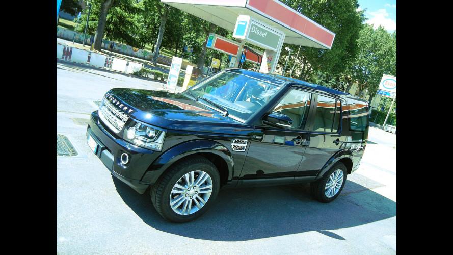 Land Rover Discovery, la prova dei consumi