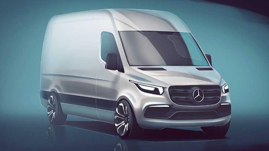Mercedes nuovo Sprinter ecco il primo disegno
