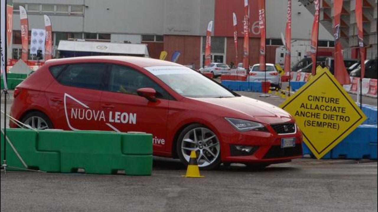 [Copertina] - Motor Show 2012: Seat Leon, in pista ma con educazione (stradale)
