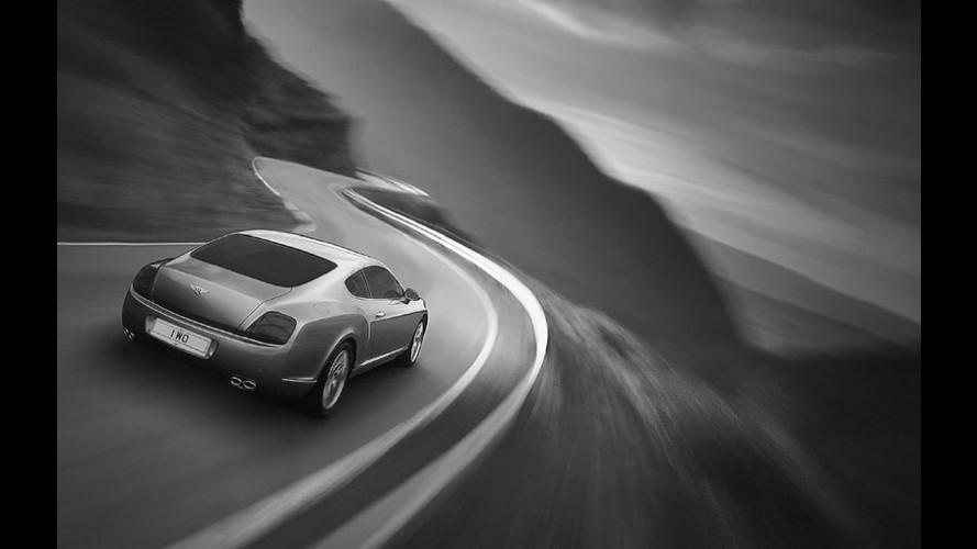 Kankkunen su Bentley Continental GT fa il record di velocità su ghiaccio!