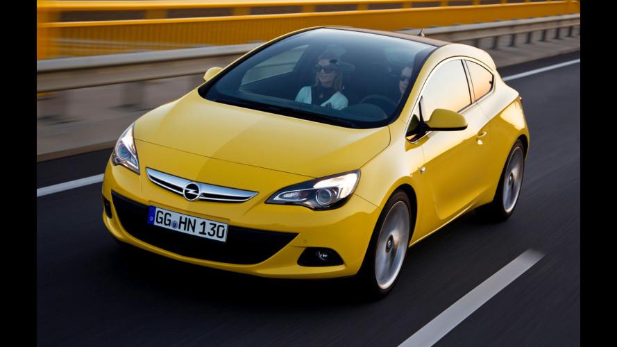 Vetro panoramico e 1.7 CDTI per l'Opel Astra GTC