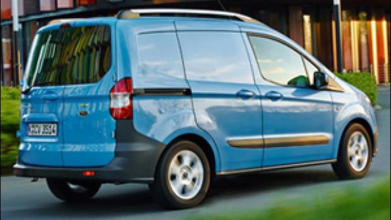 [Copertina] - Ford nel segmento dei mini van con il Transit Courier