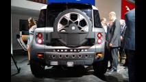 Land Rover DC100 Concept al Salone di Francoforte 2011