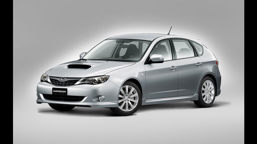 Subaru Forester ed Impreza Diesel al Salone di Parigi