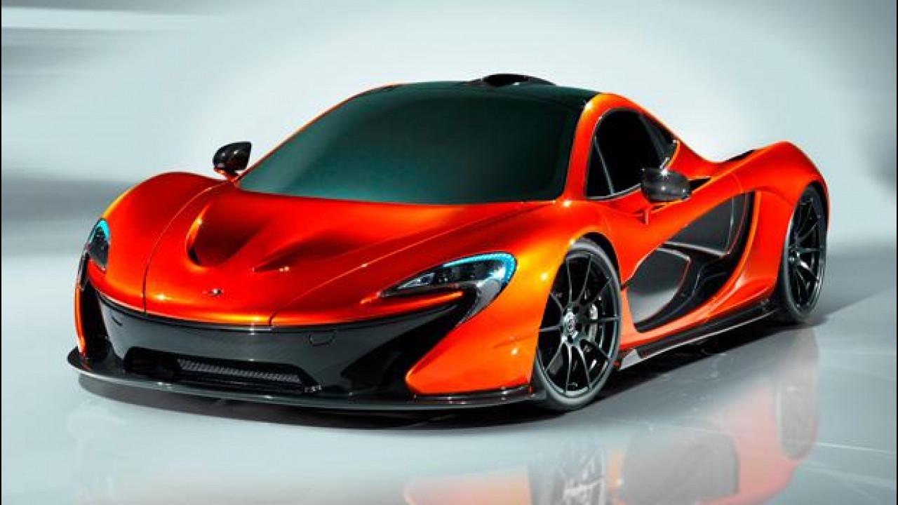 [Copertina] - McLaren P1: l'hypercar inglese per Parigi