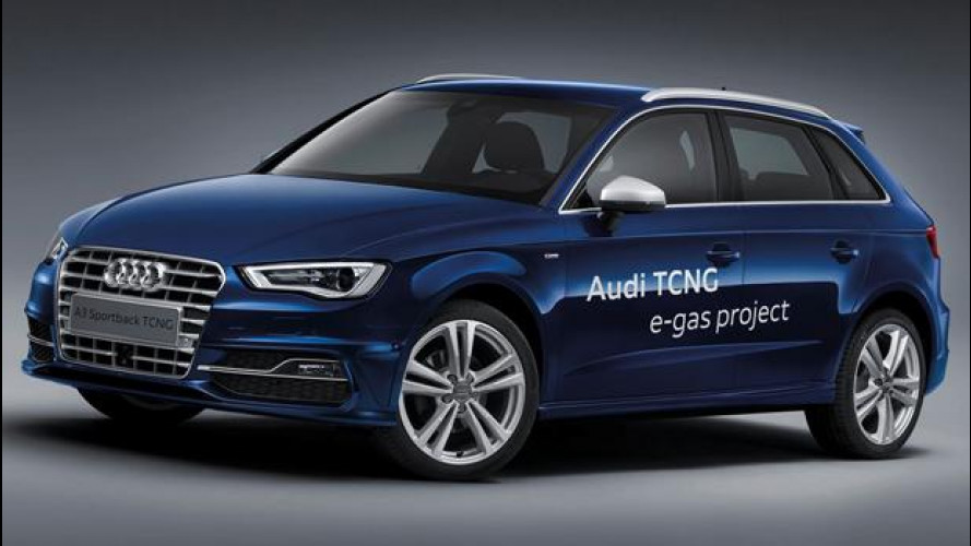 Nuova Audi A3 Sportback TCNG