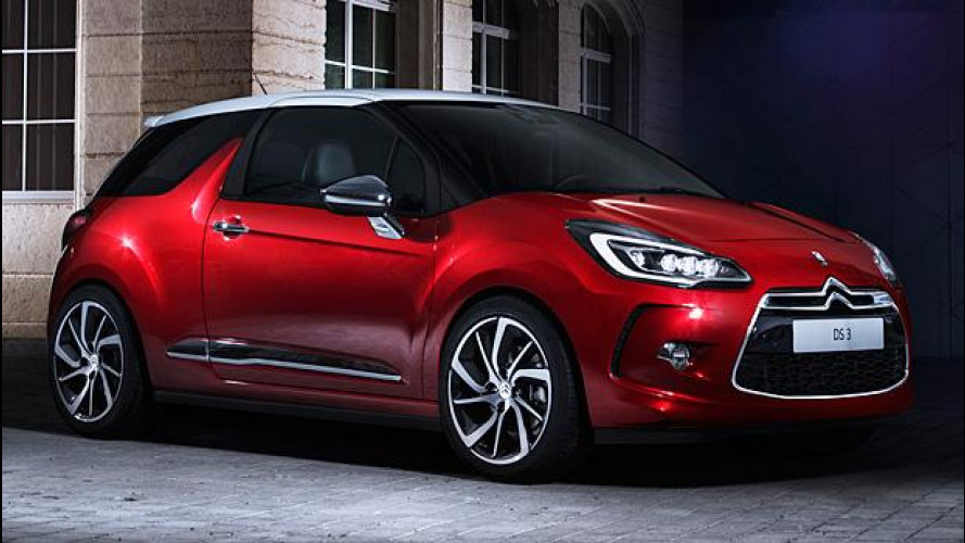 Citroen DS3 restyling, una questione di fari
