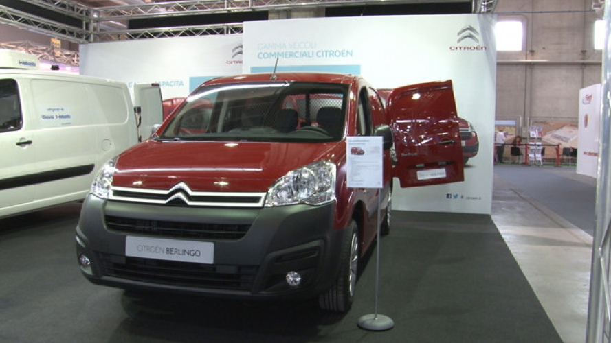 Transpotec 2015, ecco il Citroën Berlingo Van