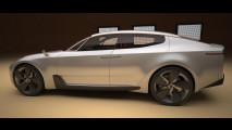 La prima Kia coupe a 4 porte