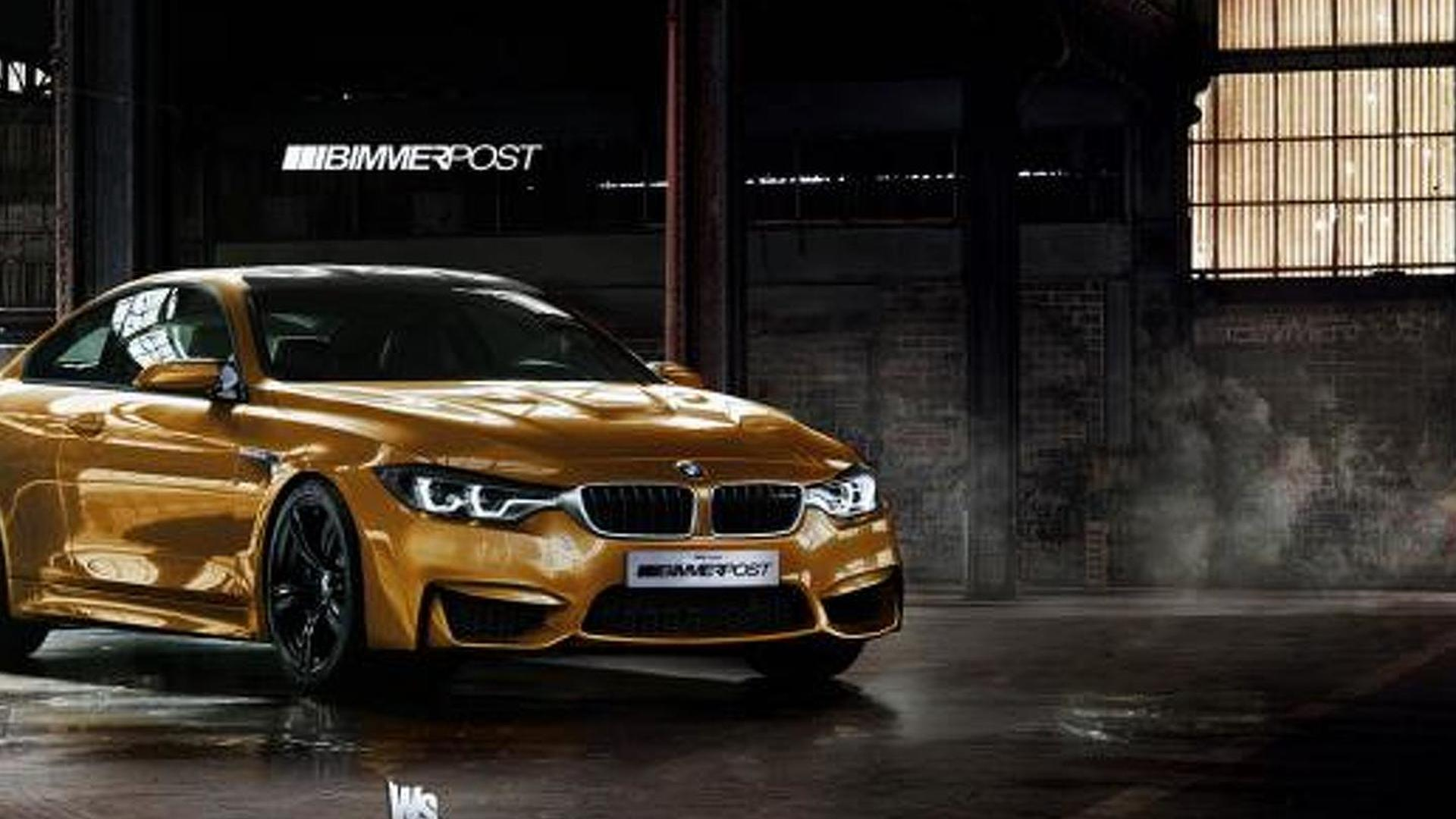 Bmw M4 Coupe >> Bmw M4 Coupe And 4 Series Gran Coupe Rendered