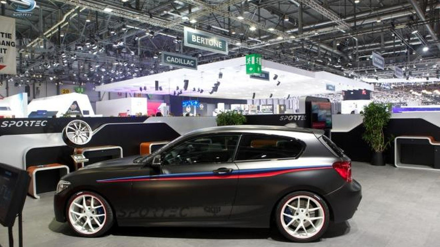 BMW M135i by Sportec races into Geneva