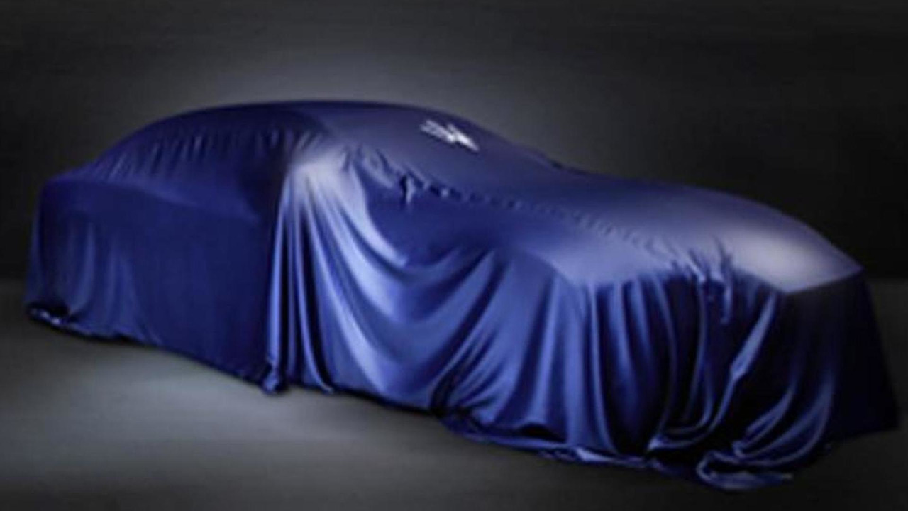 2014 Maserati Ghibli teaser image 02.4.2013