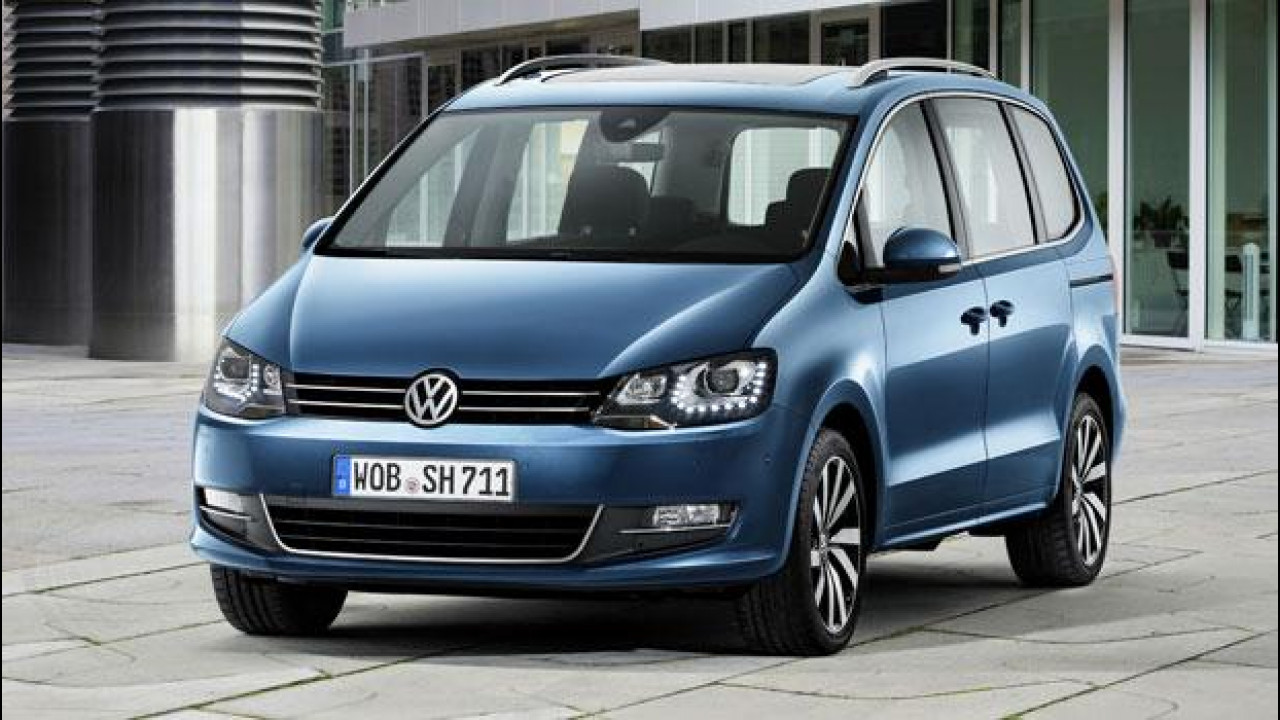 [Copertina] - Volkswagen Sharan restyling, più efficiente e sempre connessa