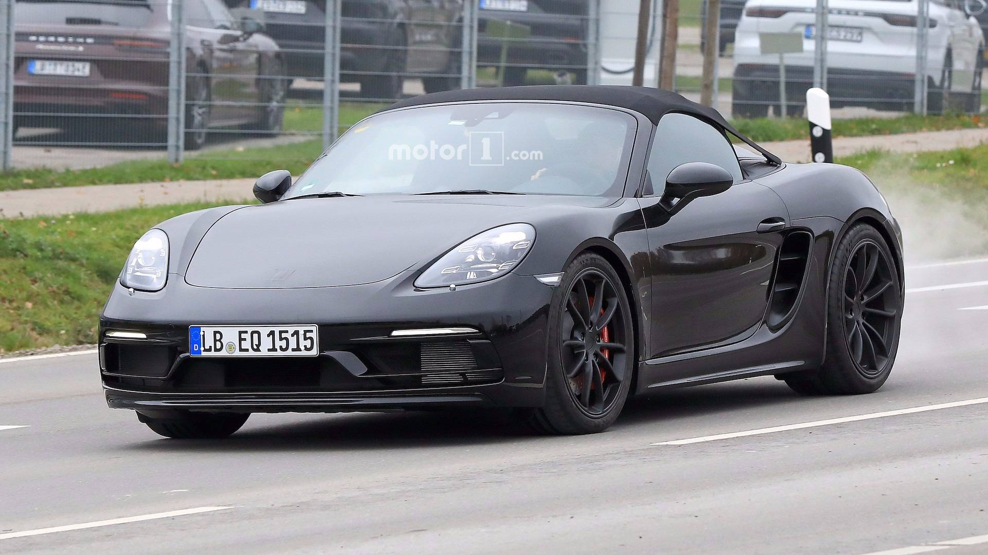 Porsche 911 Gt3 Powered 718 Boxster Spyder Is Coming