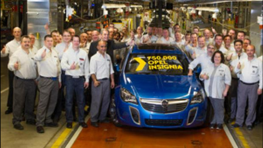 Opel festeggia Insignia, l'ammiraglia che l'ha riportata sulla