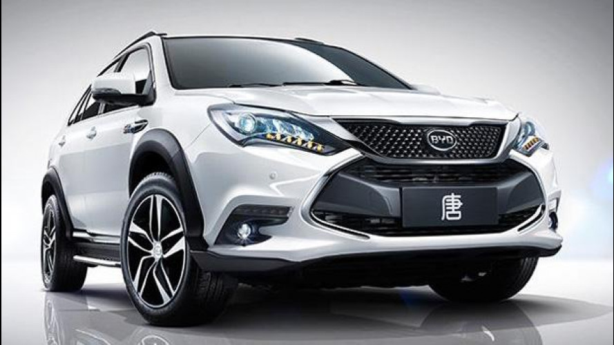 BYD Tang, il SUV ibrido cinese da 505 CV